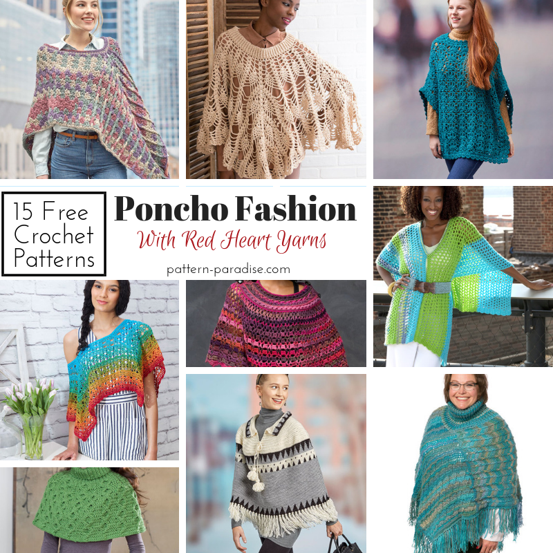 3d58a5cd3821a Crochet Finds - Poncho Fashion!