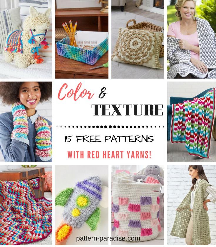 Crochet Finds – Autumn Color & Texture