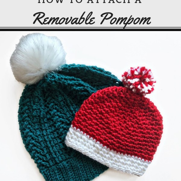 Tutorial: Removable Pompom