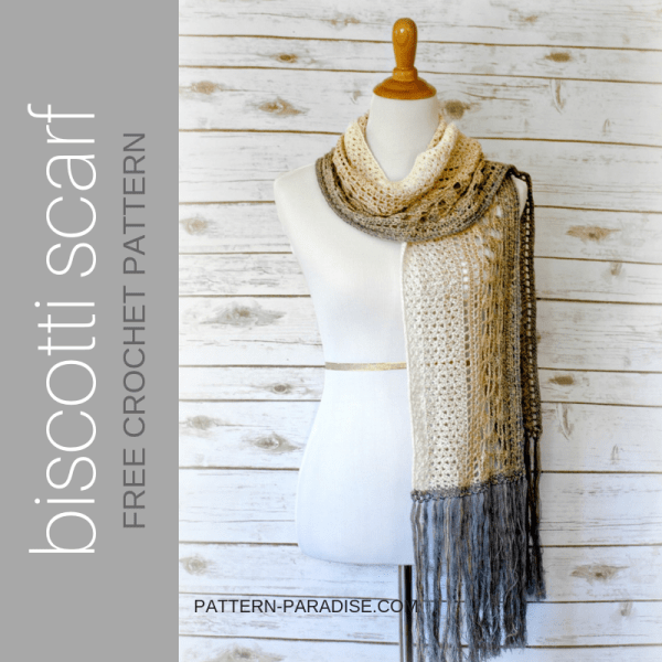 #12WeeksChristmasCAL – Biscotti Scarf
