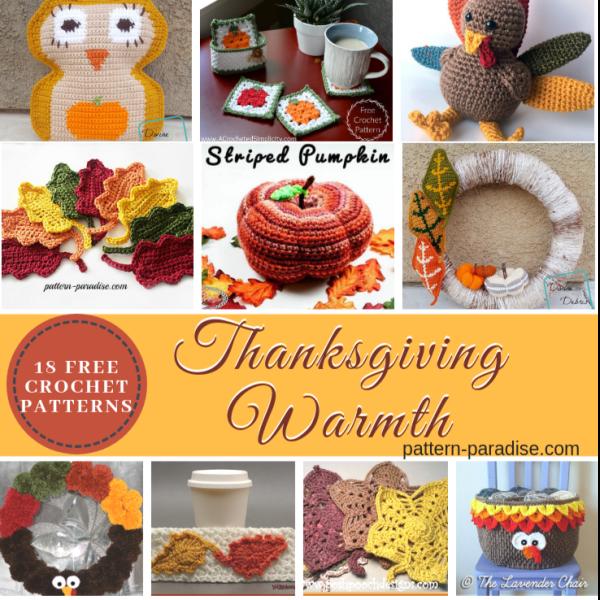 Crochet Finds – Thanksgiving Warmth