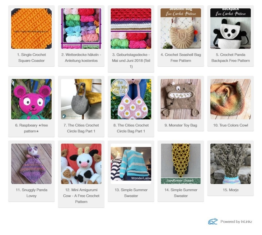 Reviews And Fun Finds Inlinkz Link Parties Giveaway Pattern