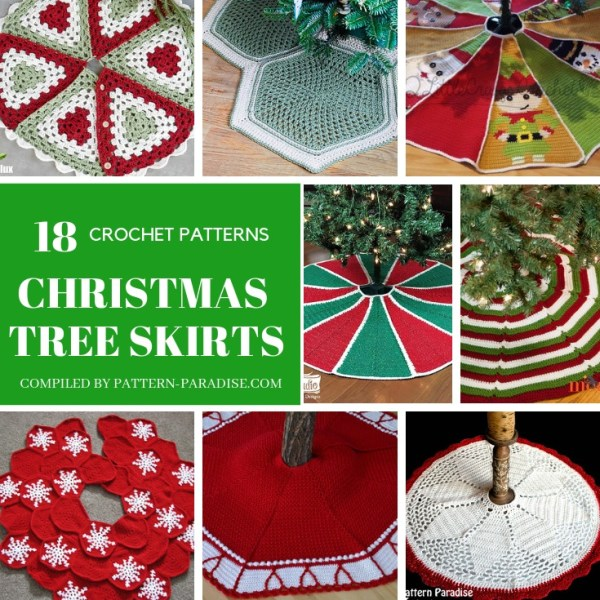 Crochet Finds – Christmas Tree Skirts To Crochet
