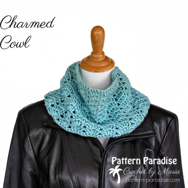 Free Crochet Pattern: Charmed Cowl