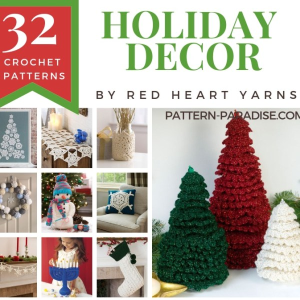 Crochet Finds – Holiday Decor With Red Heart