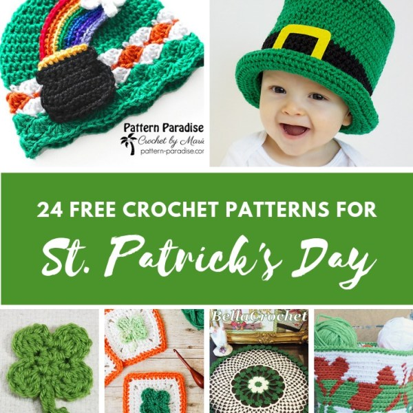Crochet Finds – St. Patrick's Day Patterns With Spirit!