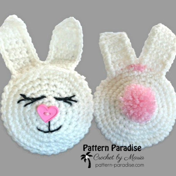 Free Crochet Pattern: Bunny Treat Pouches