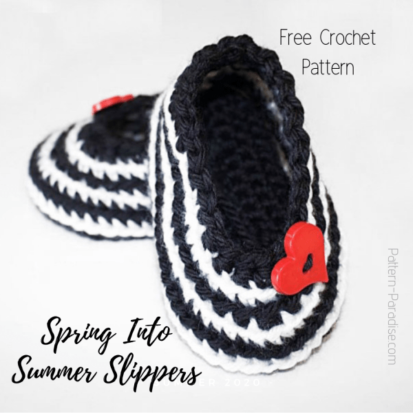 Free Crochet Pattern: Spring Into Summer Baby Shoes