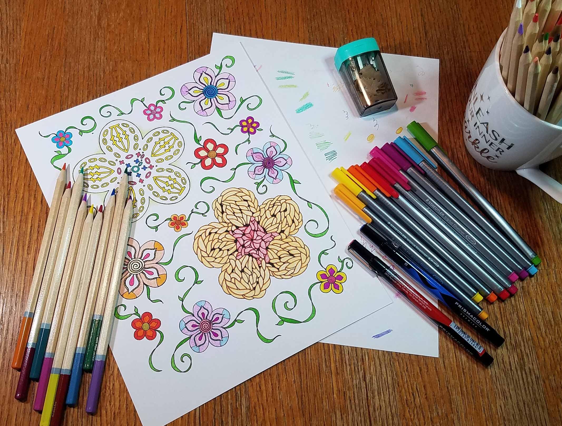 Crochet Coloring