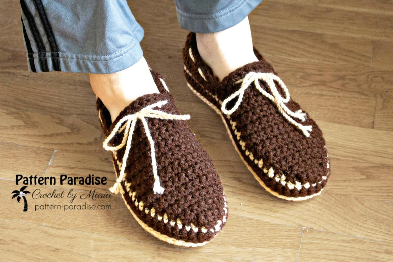 Free Crochet Pattern: Boat Shoe