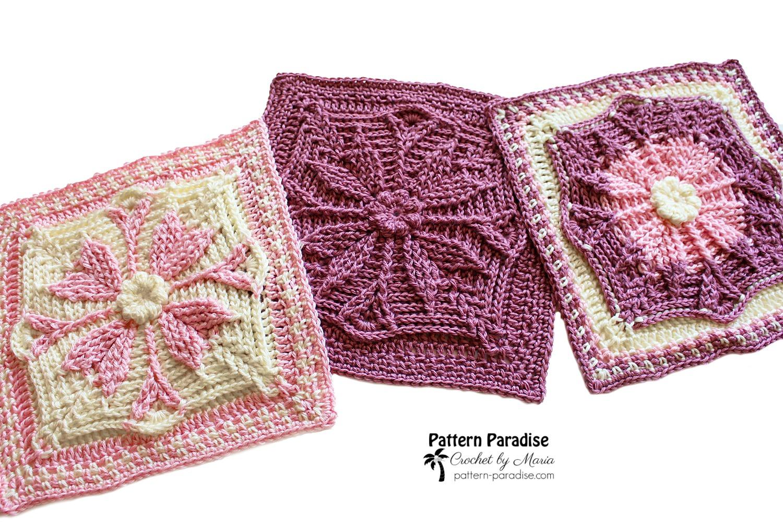 Barcelona Crochet Square
