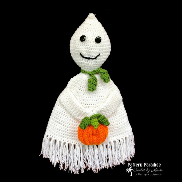 Free Crochet Pattern: Spookles The Ghost