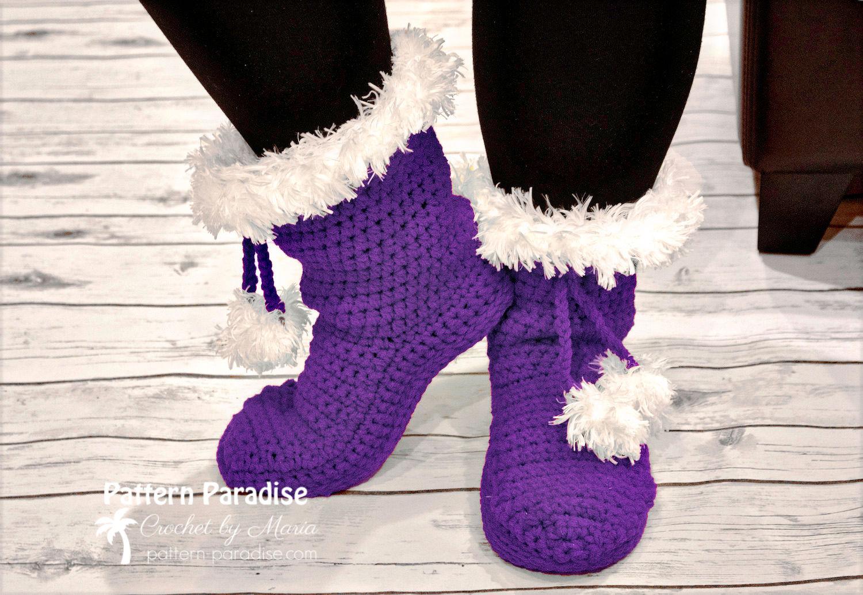 santa slipper