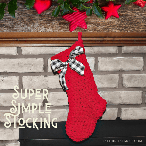 2019 Christmas Blog Hop – Super Simple Stocking