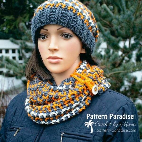 Free Crochet Pattern: Winston Cowl & Giveaway