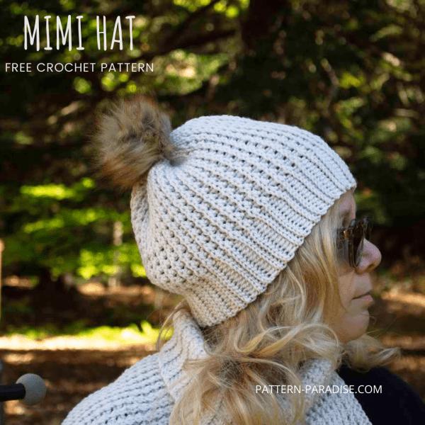 Free Crochet Pattern: Mimi Hat