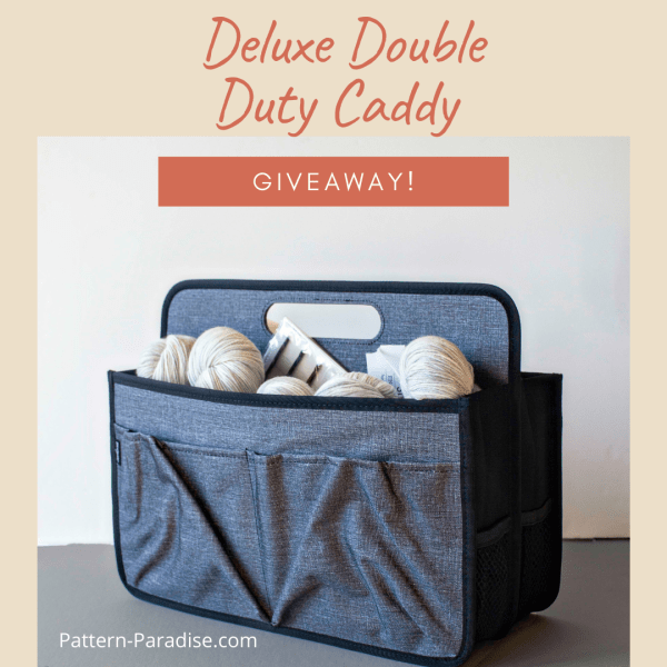 Deluxe Double Duty Caddy Review & Giveaway!