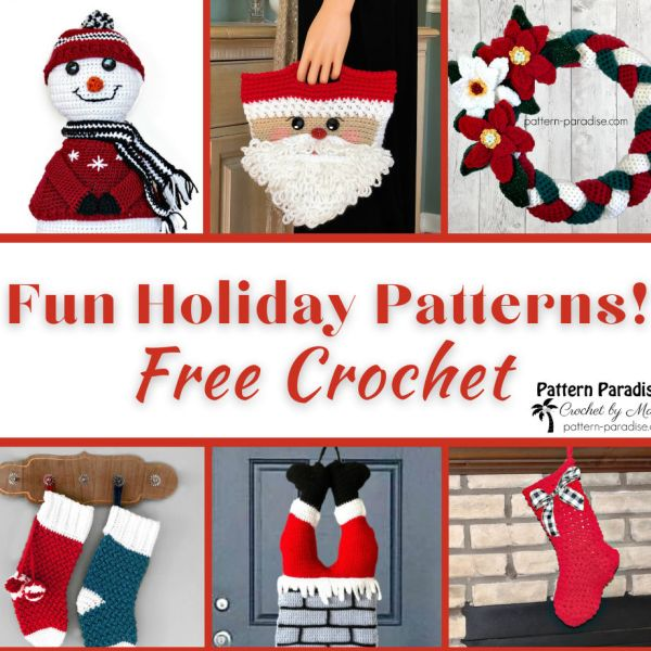 Crochet Finds – Stockings and More Holiday Patterns!