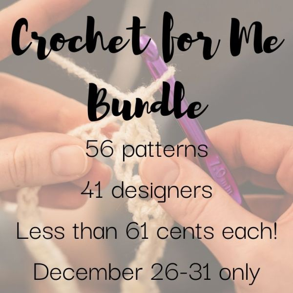 Get Your Copy Of The Crochet for Me Bundle 2020!
