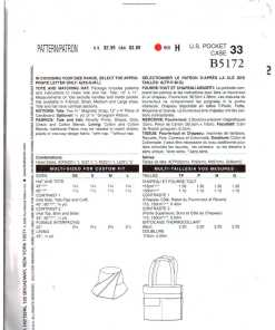 Butterick B5172 Y 1