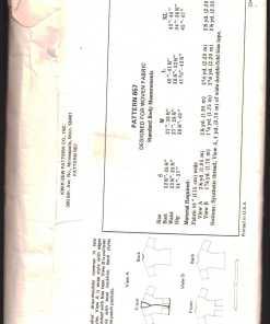 Kwik Sew 657 1
