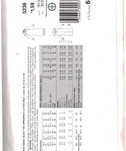 Butterick 5236 Z 1