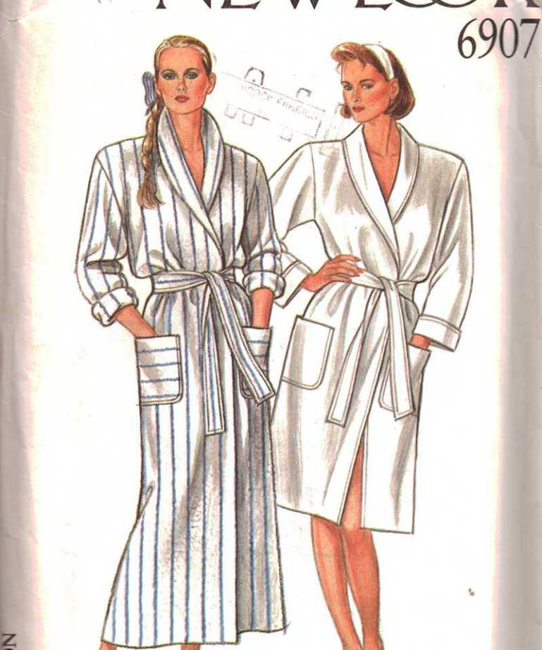New Look 6907 Robe Size: 8-18 Uncut Sewing Pattern