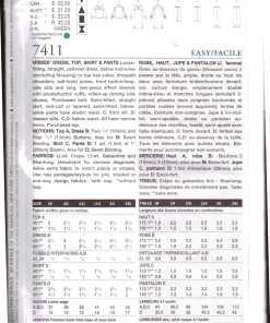Vogue 7411 A 1