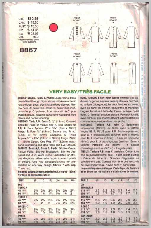 Vogue 8867 1
