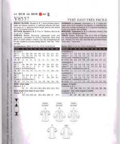 Vogue V8557 G 1