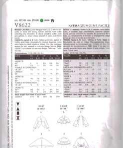 Vogue V8622 1