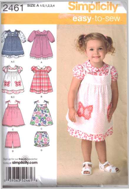 See /& Sew 4161 It/'s So Easy Girls Tops Shorts Dress Sewing Pattern 7-8-10-12-14