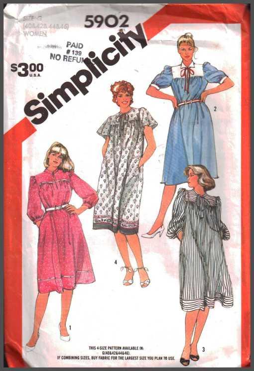 Simplicity 5902