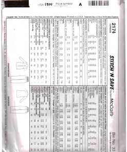 McCalls 2174 Y 1