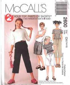 McCalls 2600