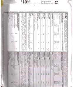 McCalls 3066 M 1