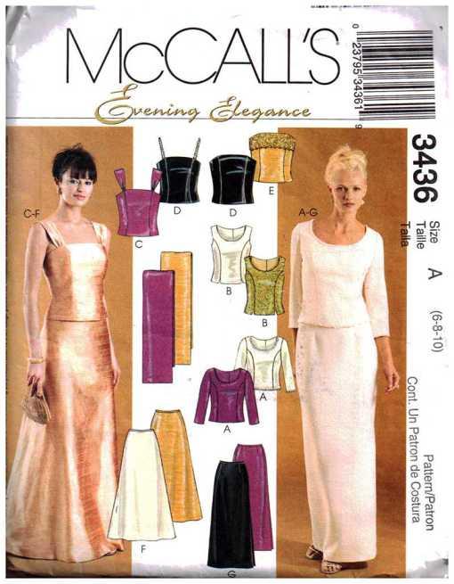 McCalls 3436