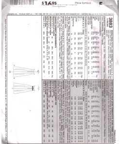 McCalls 3883 M 1
