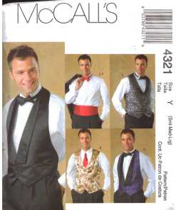Vests & Waistcoats Sewing Patterns