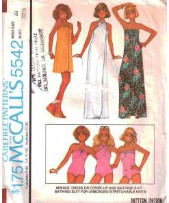 Swimwear & Cover-Ups Sewing Patterns
