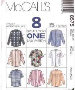 McCalls 8575 M