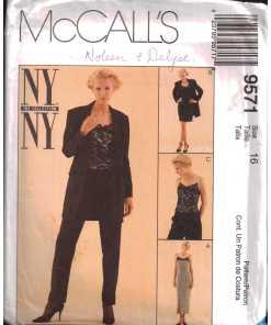 McCalls 9571 M