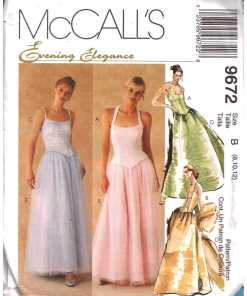 Evening Wear Sewing Patterns