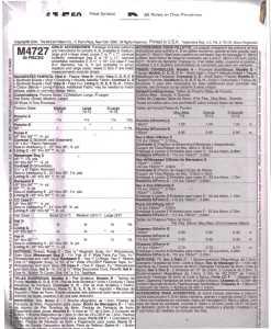McCalls M4727 M1