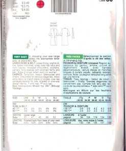 Butterick 5160 J 1