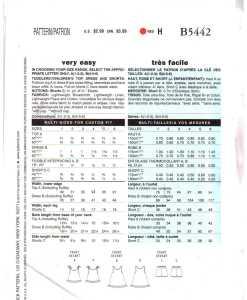 Butterick B5442 J 1