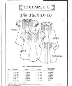 Collars Etc The Tuck Dress