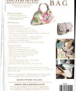 Country Living Dorothy Bag Clutch 1