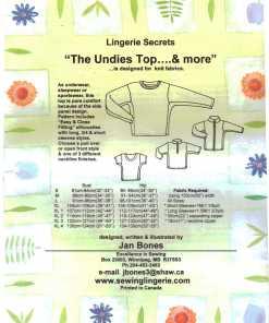 Jan Bones Lingerie Secrets