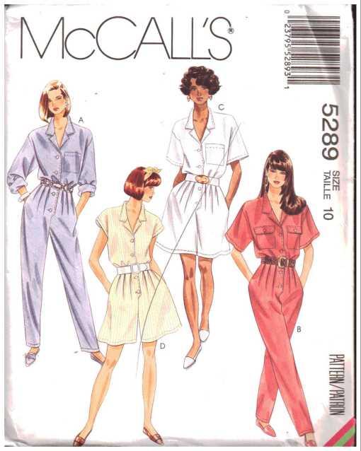 McCalls 5289 J